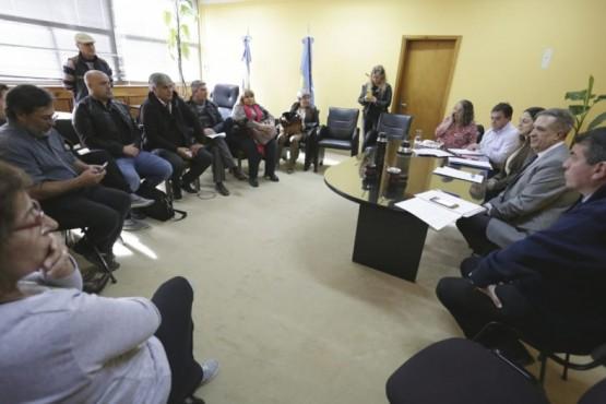 Gobierno realizó un nuevo encuentro con gremios estatales
