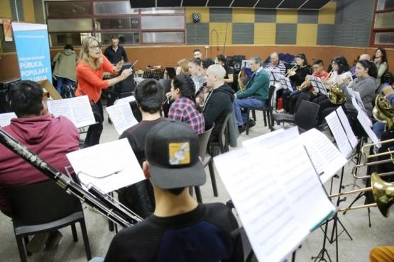 Nuevos instrumentos para las orquestas de Santa Cruz