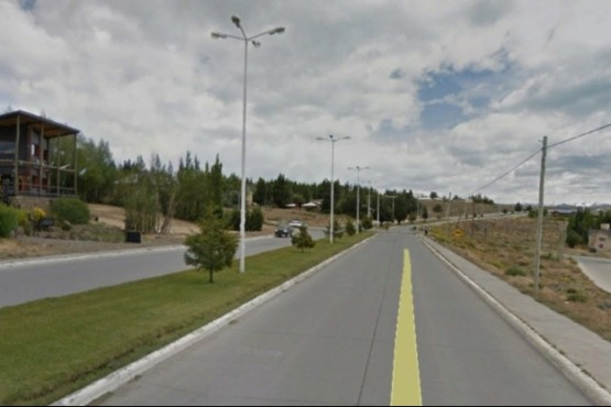 Sector donde ocurrió el accidente. (Foto Google Street view)