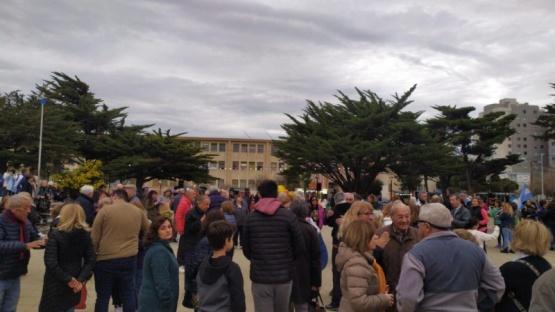 En Comodoro también se manifestaron a favor de Macri