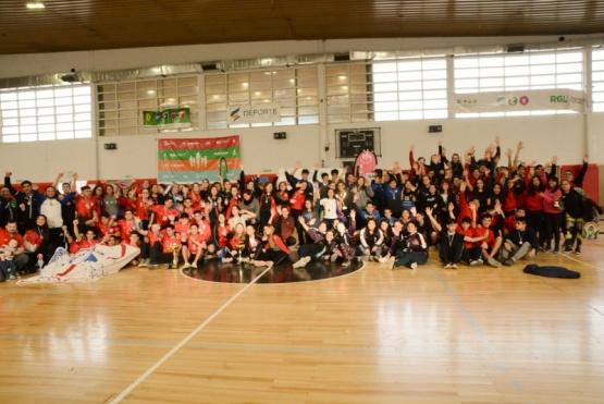 Los campeones del Regional de Handball