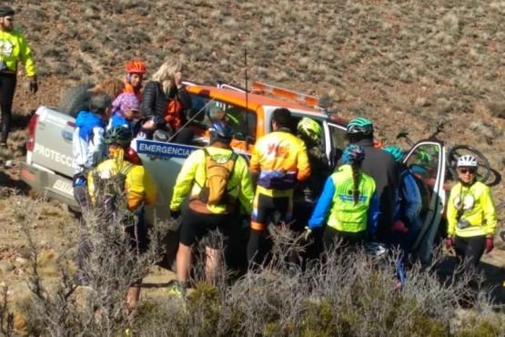 Se realizaron actividades de cicloturismo en Pico Truncado