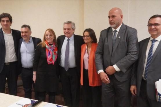 Alicia y Alberto Fernández se reunieron con empresas mineras