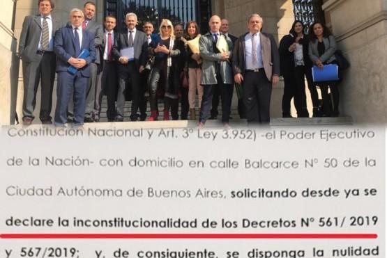 Las Provincias piden que se declarar la inconstitucionalidad de los Decretos N°561 y 567/19.