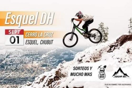 Competencia de descenso en el Cerro La Cruz