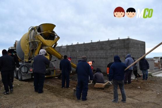 Continúan las obras en el Cementerio y en Barrio 13 de Diciembre