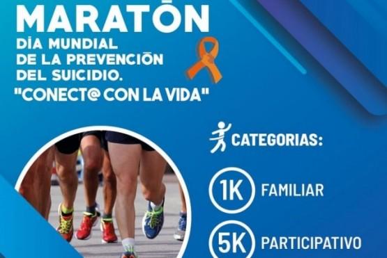 Realizan una maratón por el Día Mundial de Prevención del Suicidio