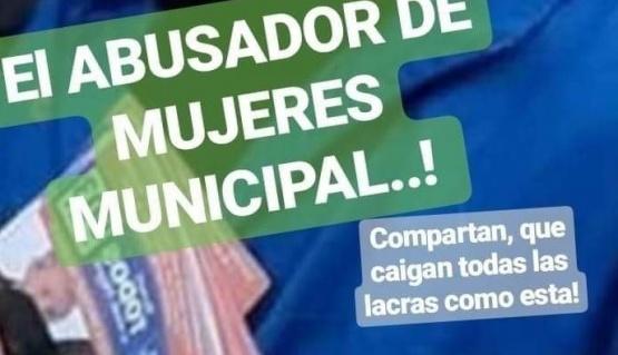Municipio pasó a disponibilidad al empleado detenido por casos de abuso