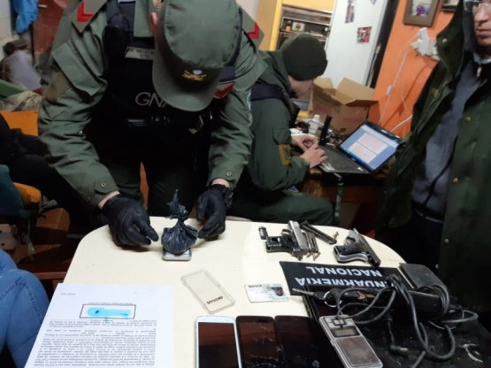 Desbarataron banda narco en Comodoro