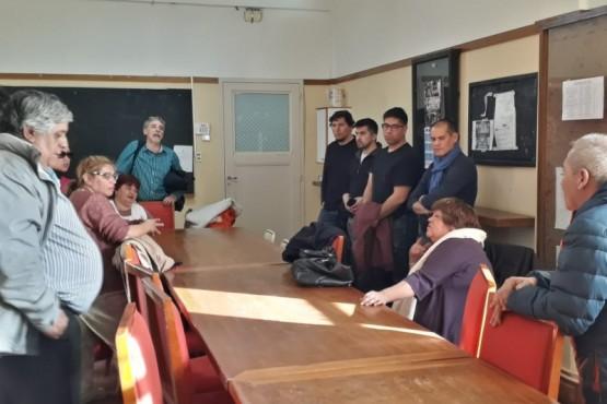 La MUS se reunió con la Cámara de Empresas del Golfo San Jorge