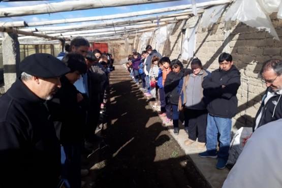Gran participación en el lanzamiento de 'ProHuerta'