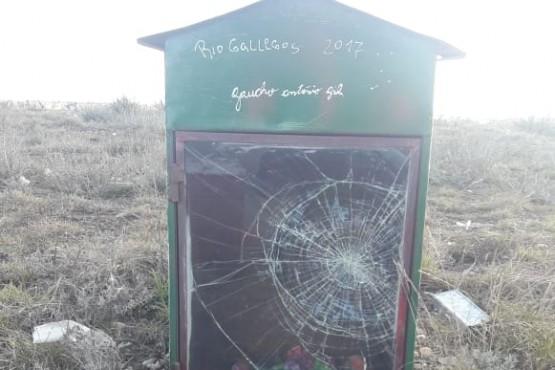 Vandalismo en el santuario del Gauchito Gil