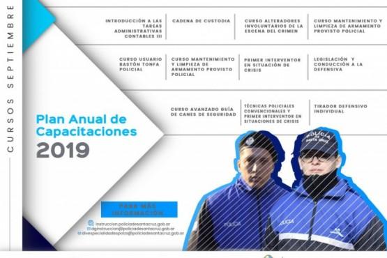 Plan Anual de Capacitaciones 2019: Cursos de septiembre