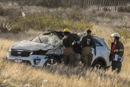 Vuelco fatal a 50 km de Madryn: murió un empresario vinculado al Cine Coliseo