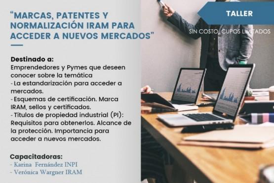Dictan taller de Marcas, Patentes y Normalización IRAM