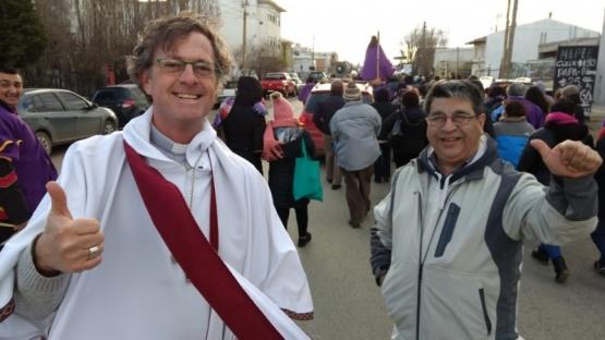 Realizaron procesión en honor a Jesús Nazareno