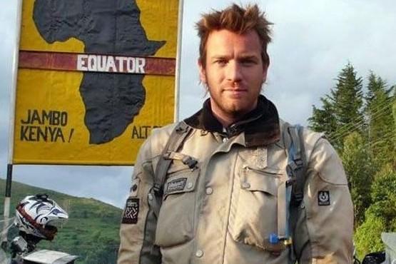 Ewan McGregor unirá Ushuaia-Ecuador en moto