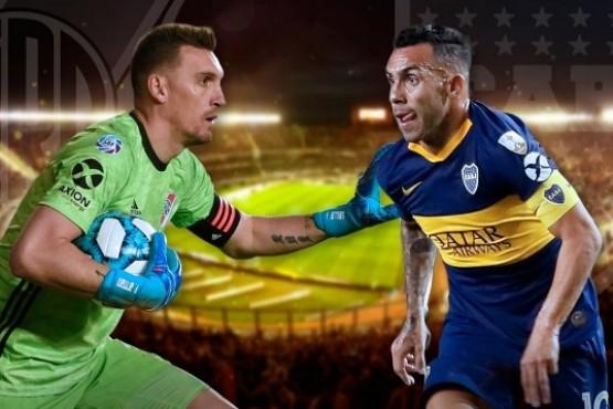 River y Boca se vuelven a enfrentar tras la final de Madrid