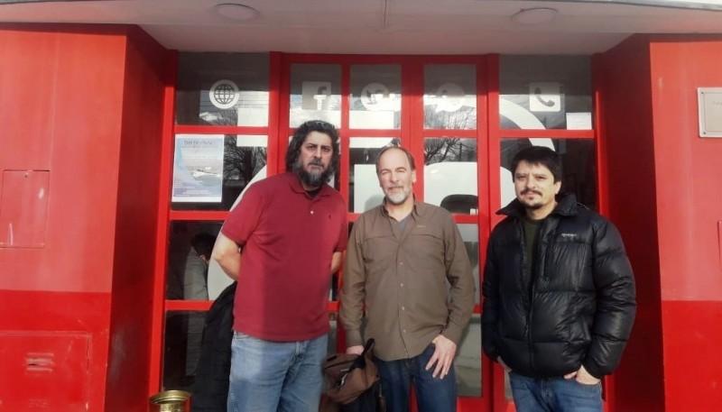 Baigorria, Vockovic y Birgini visitaron TiempoSur