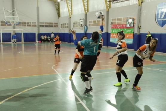 Se jugó la Liga Municipal de Futsal