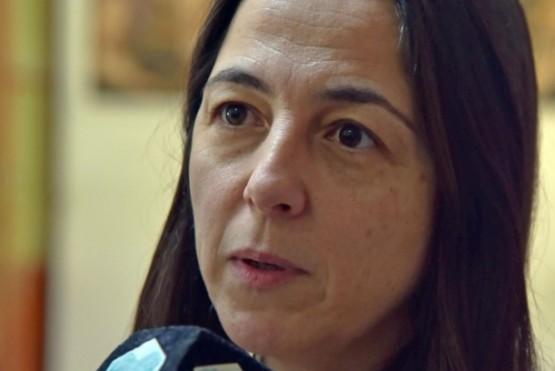 Ministra de Gobierno, Mariana Vega.