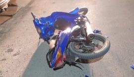Un motociclista llevado al hospital en otro accidente