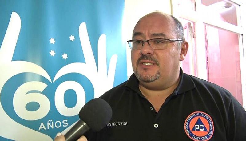 Diego Farías, Director de Protección Civil