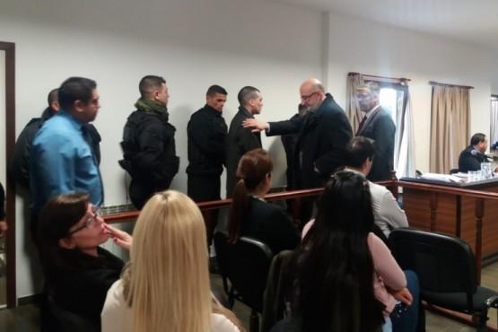 Cristian Marshal en el primer día de juicio (P.A)