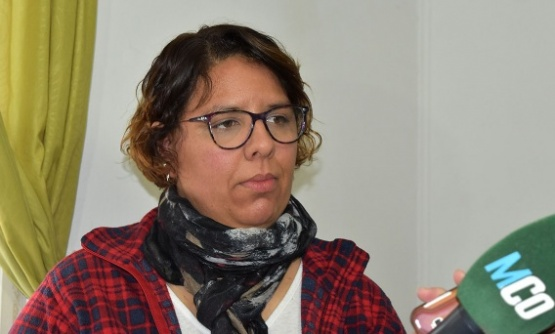 Lorena Peña, supervisora de Salud Comunitaria.