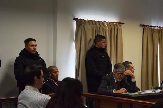 Los imputados escucharon la requisitoria de elevación a juicio.