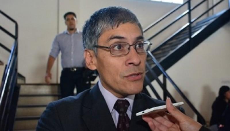El concejal del FPV, Eloy Echazú.