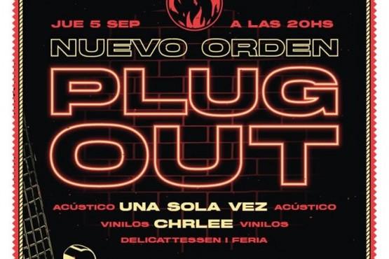 Nuevo Orden Plug Out este jueves en Río Gallegos.