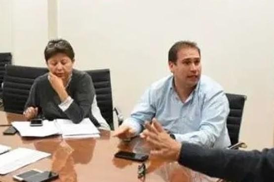Diputados del PJ-FpV, Viviana Navarro y Gustavo Fita.