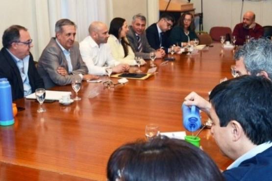 La ministra Vega indicó que se dialogó sobre lo que se viene desarrollando cada Ministerio y área de gestión.