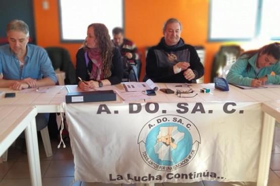 Congreso de ADOSAC celebrado ayer en San Julián.