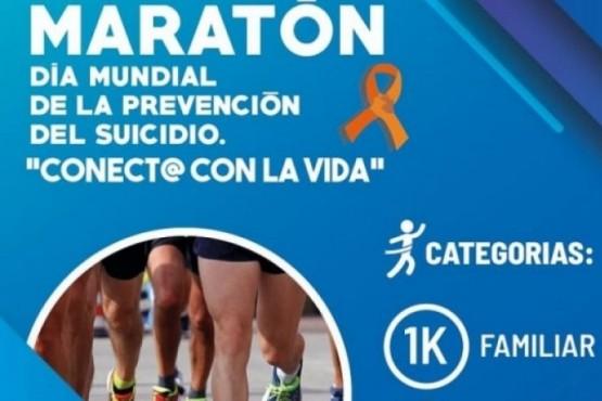 Maratón sobre prevención del suicidio.