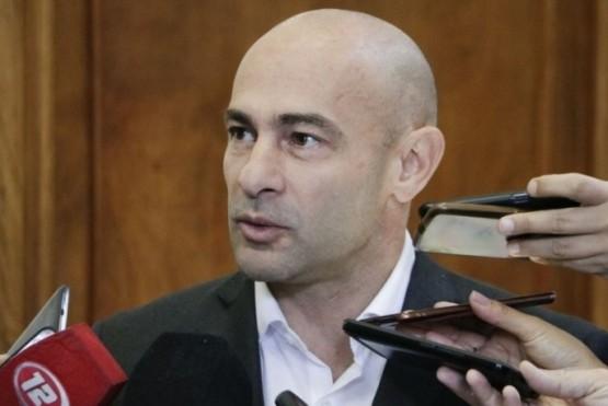 El Ministro Coordinador de Gabinete, Federido Massoni.