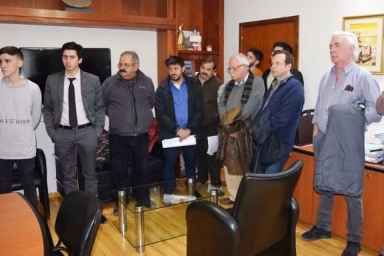 La subasta se realizó ayer en la sede del Municipio de Río Gallegos.