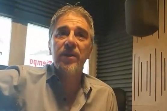 El secretario general de ADOSAC, Pedro Cormack en Tiempo FM.
