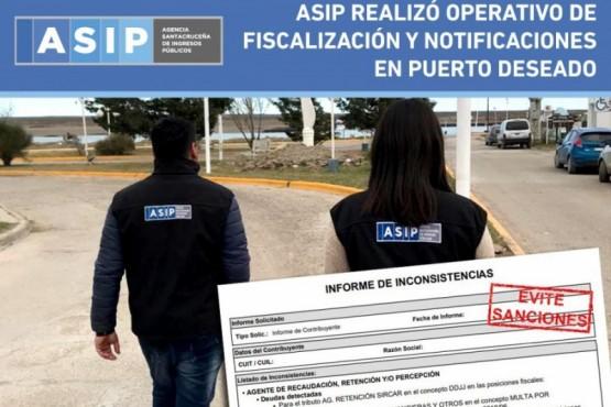 La Agencia Santacruceña de Ingresos Públicos.