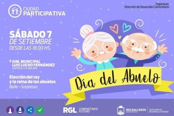 La actividad en conmemoración al Día del Abuelo.