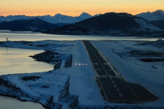 Aeropuerto de Ushuaia.