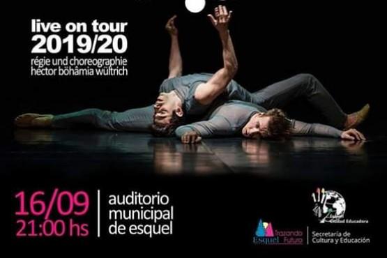 Compañía de Danzas Contemporáneas alemana llega a Esquel