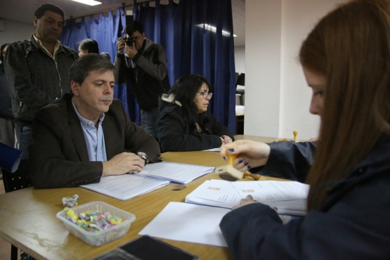Leguizamón oficializó su candidatura. (C.G)