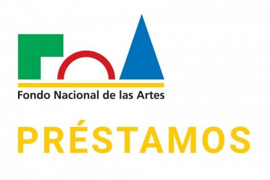 Un crédito del Fondo Nacional de las Artes.