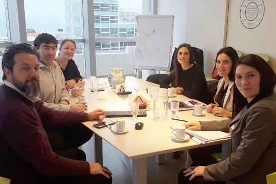 La Dirección Provincial de Formación y Capacitación de Recursos Humanos asesorando al Instituto Médico Altamira de Comodoro Rivadavia