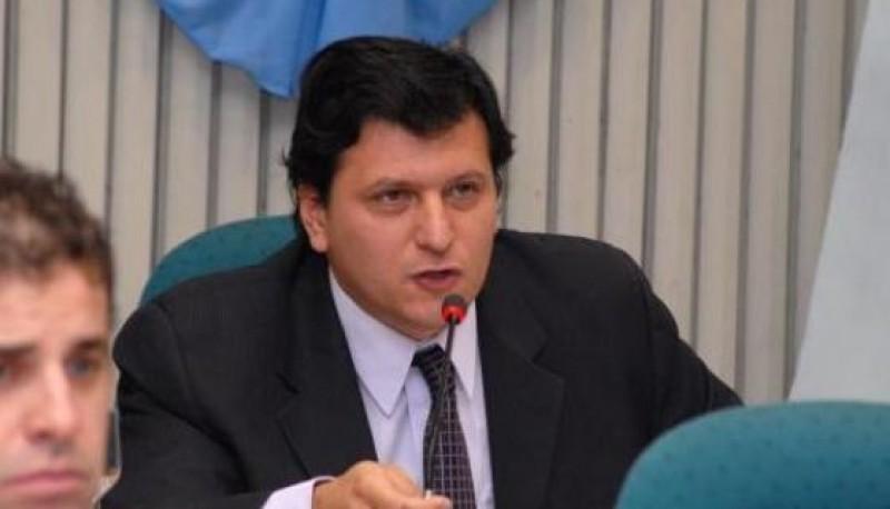 El candidato a intendente de Río Gallegos, Mauricio Gómez Bull,