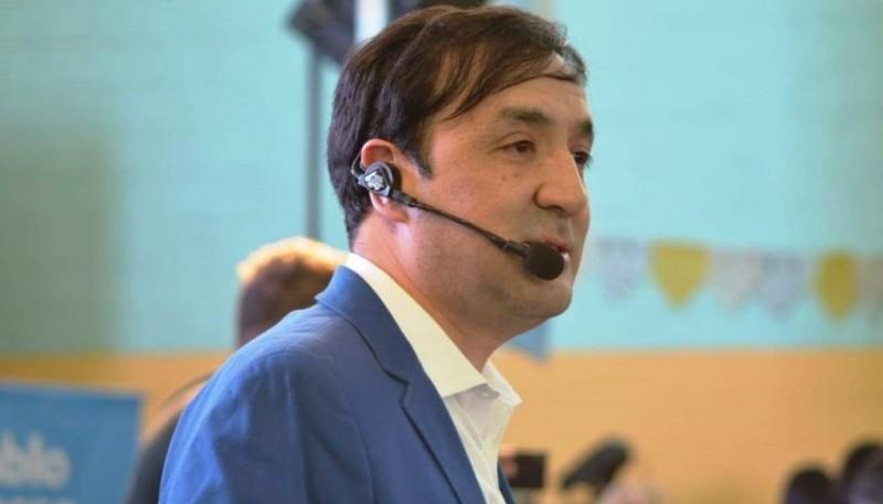 Pablo Grasso, por segunda vez compite para ser intendente de la capital.
