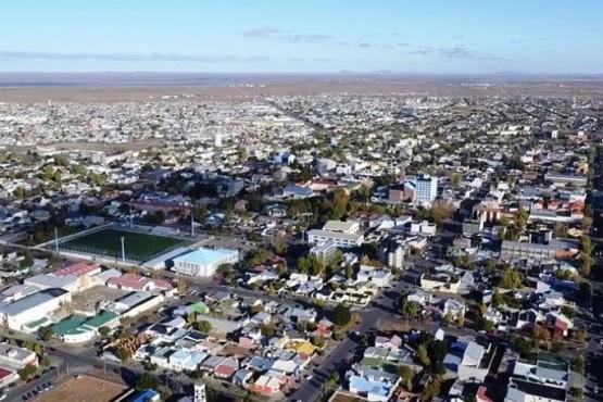 La ciudad de Río Gallegos, vista aérea (Archivo)