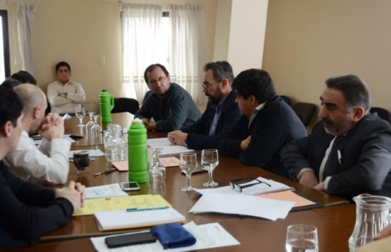 Reunión realizada en la Legislatura.
